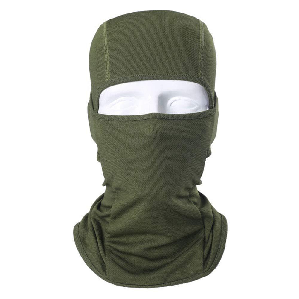 GULUDED Solid Color Balaclava Headgear Windproof Sunscreen Sweat Absorption Keep Warm Headgear