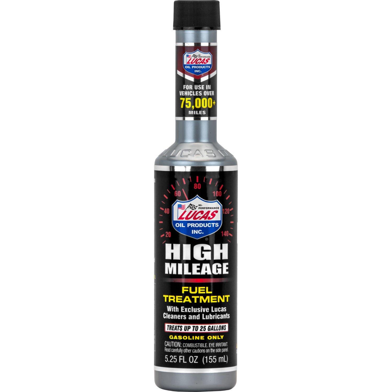 Lucas Oil High Mileage Fuel Treatment/24x1/5.25 Ounce