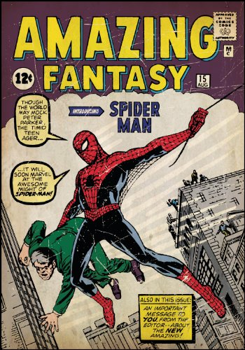 Amazing Spiderman First Issue Comic Book Cover Wall Accent Rmk1658slg RMK1658SLG