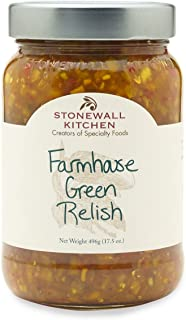 product image for Stonewall Kitchen Farmhouse Green Relish, 17.5 Ounces