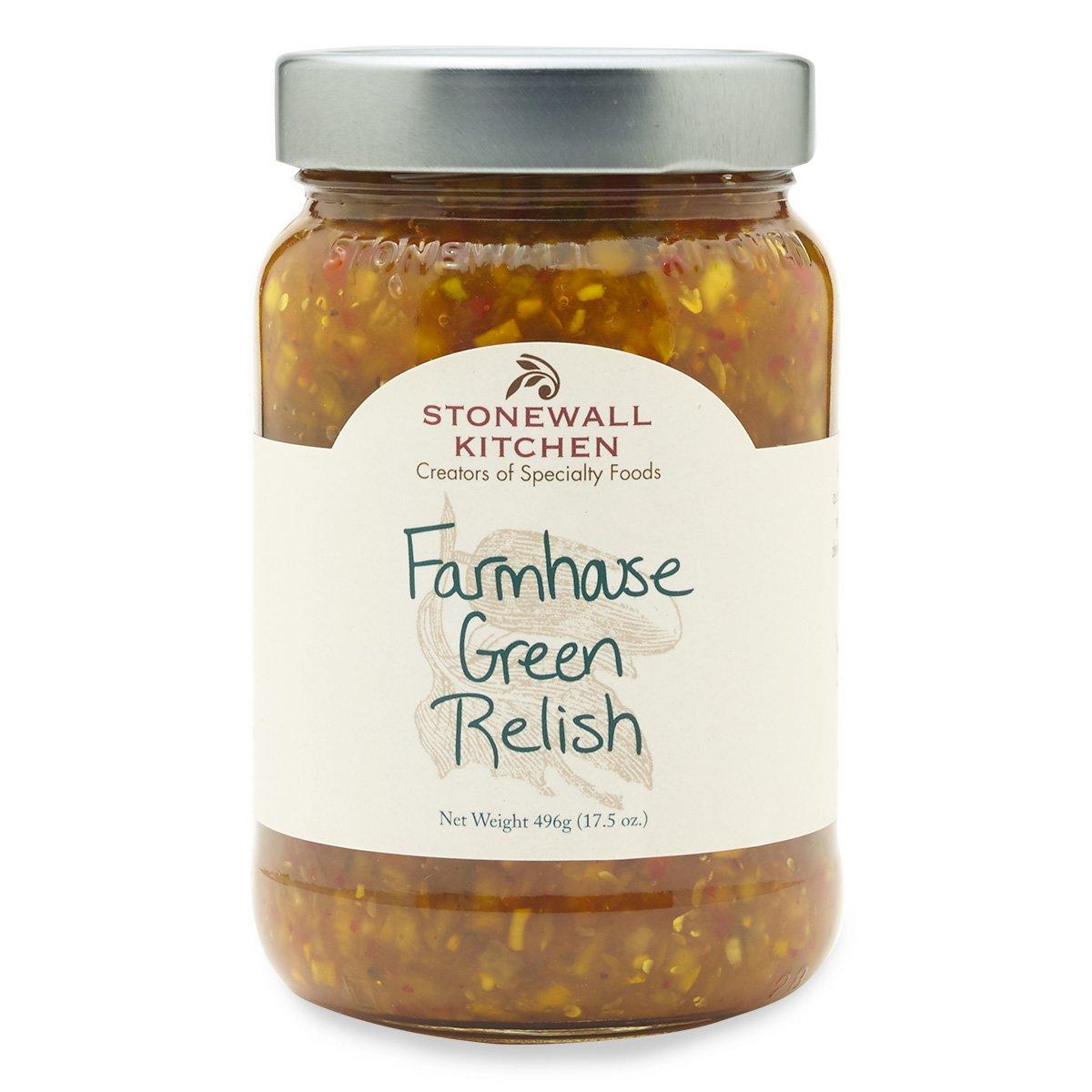 Stonewall Kitchen Farmhouse Green Relish, 17.5 ounces