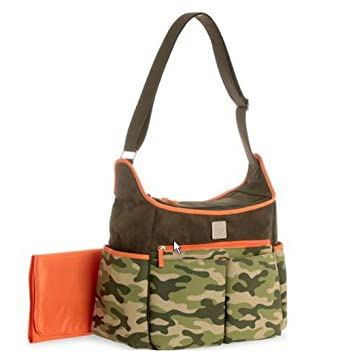 d2612519f16a Image Unavailable. Image not available for. Color  Child of Mine Camo Print  Hobo Diaper Bag ...