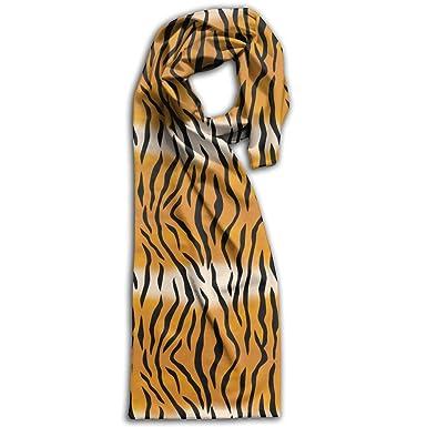 Tiger Pattern Seamless Large Women's Men's Fashion Winter Warm Scarf Extraordinary Tiger Pattern