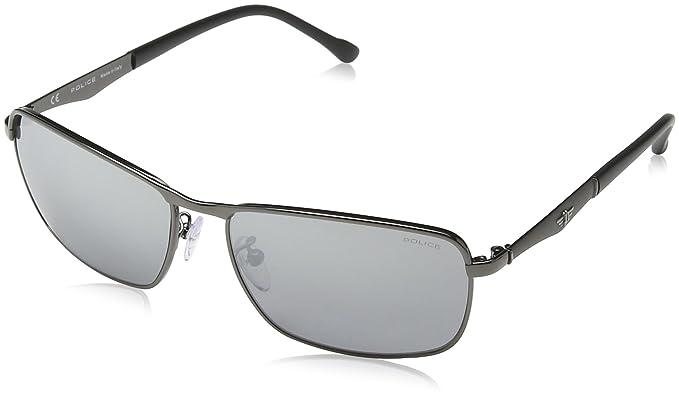 Police - Gafas de sol Rectangulares S8968 Razor 3, SHINY ...