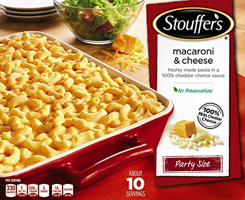 stouffers macaroni and cheese - 1