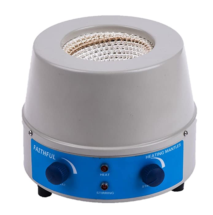 Heating Mantle with Magnetic Stirring, 2000ml, 0-1600rpm, 110V, 450W