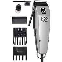Moser 1400.0458 Edition 1400 - Cortapelos con cable, corded-electric, plateado