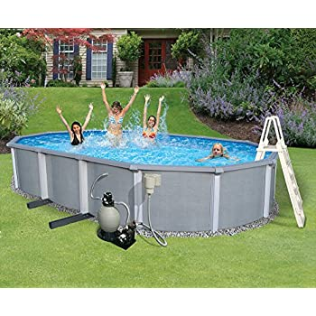 Amazon Com Blue Wave Zanzibar 18 Feet Round 54 Inch Deep