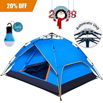 (Upgrade) 2-3 Person Instant C&ing TentRainbows Houses 4 Season Waterproof  sc 1 st  Amazon.com & Amazon.com : (Upgrade) 2-3 Person Instant Camping Tent Rainbows ...