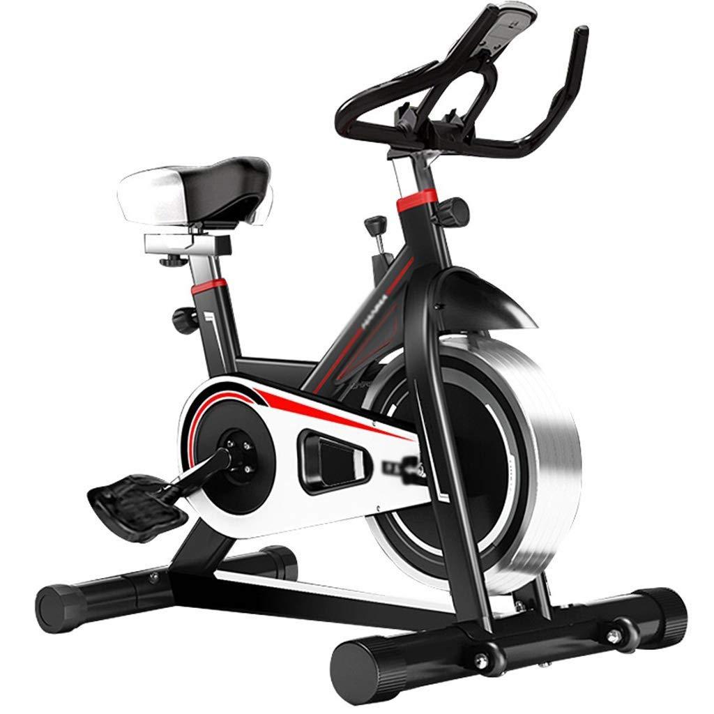 NSHUN 調節可能なエアロバイク、ステーショナリーバイク、インドアサイクルバイク、プロ用サイレントエアロバイク、家庭用LCDディスプレイ、ジム用