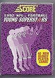 1992 SCORE NFL FOOTBALL YOUNG STARS SET - 40 NEW