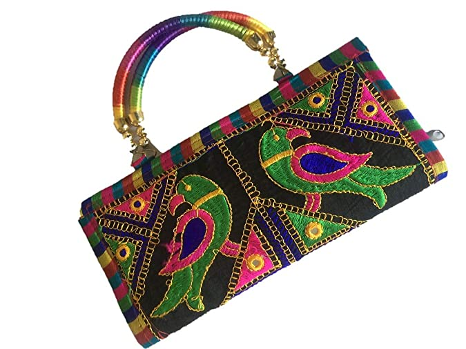 JaipurHut Women's Multicolour Casual Handlebag Clutch Clutches