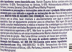 Vanish Pretratante quitamanchas ropa espuma - 300 ml