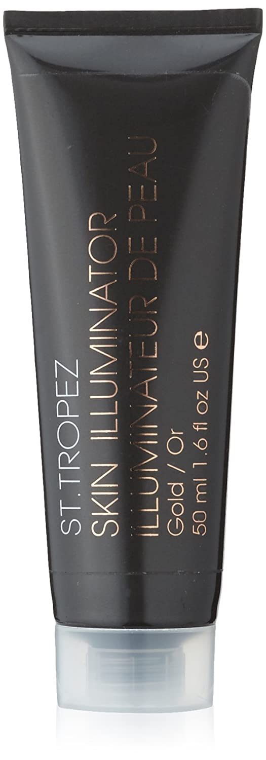 St. Tropez Gold Skin Illuminator 1.6oz (50ml) 3 Pack - Sea Breeze Actives Sensitive Skin Astringent 10oz Each