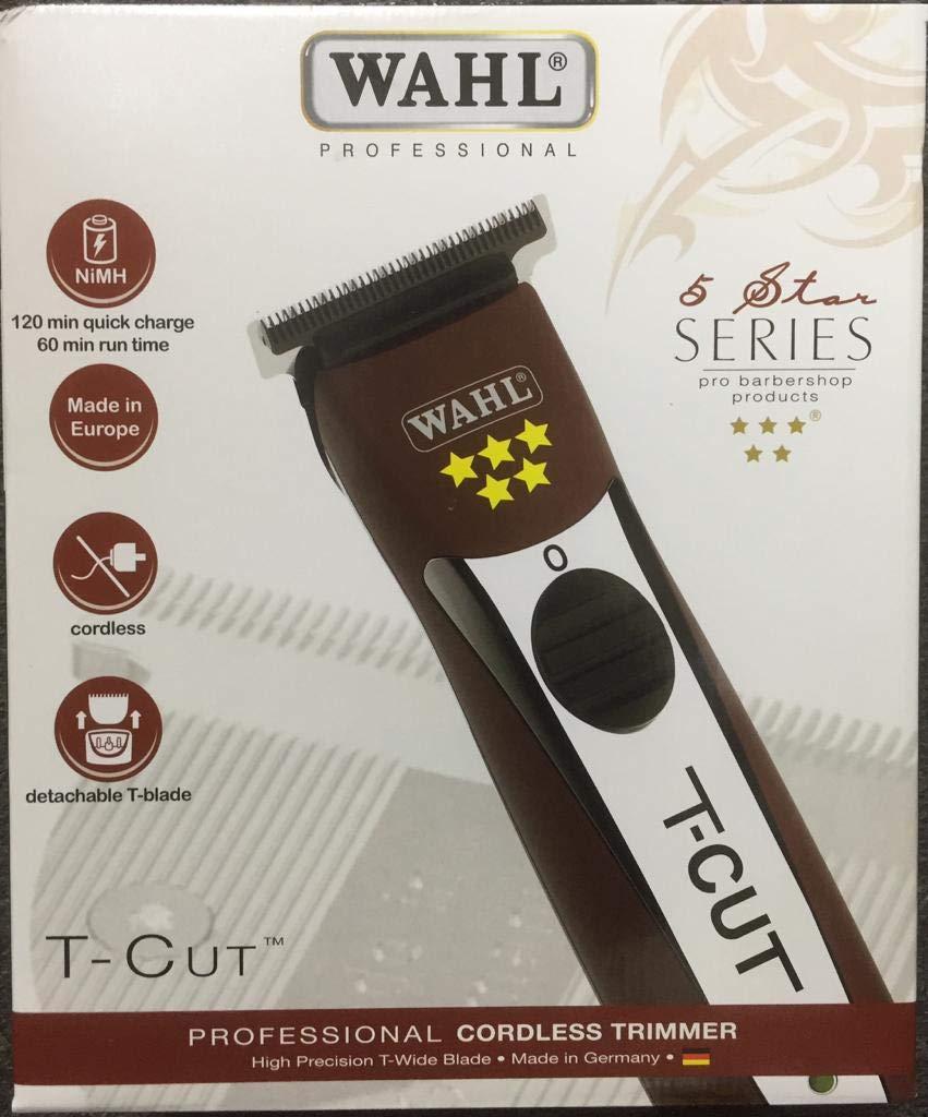 Wahl, rasoio ad alta precisione T-Cut senza fili con lame a T (etichetta in lingua italiana non garantita) Germany