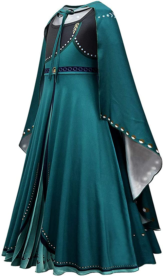 CosplayDiy Girls Princess Inspired Snow Queen Elsa Party Cosplay Costume Dress Age 3+ Bag Only, One Size