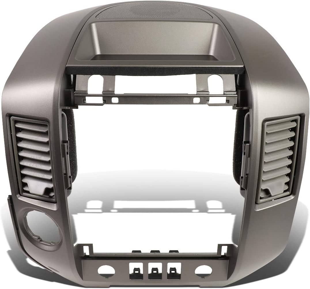 DNA MOTORING Grey ZTL-Y-0146 Center Dash Audio A//C Vent Surround Bezel w//Speaker Cover