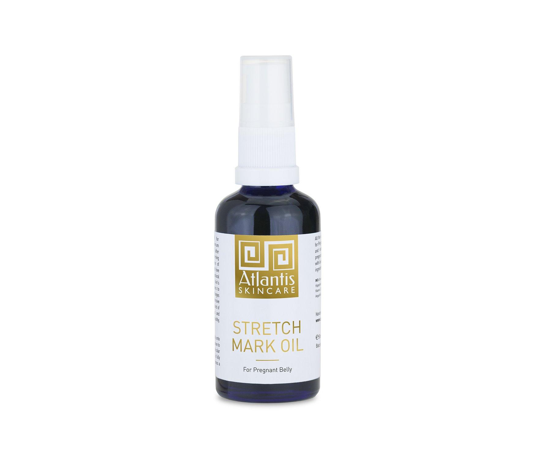 Atlantis Skincare Stretch Mark Oil for Pregnant Belly 50ml/1.76oz