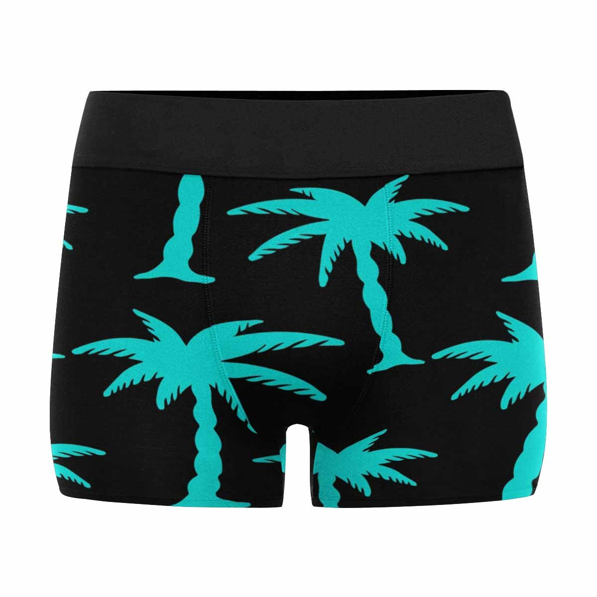 XS-3XL INTERESTPRINT Custom Mens Boxer Briefs Tropical Coconut Palm Trees
