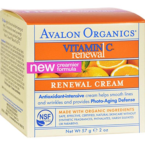 Avalon Organics Vitamin Renewal Creme product image