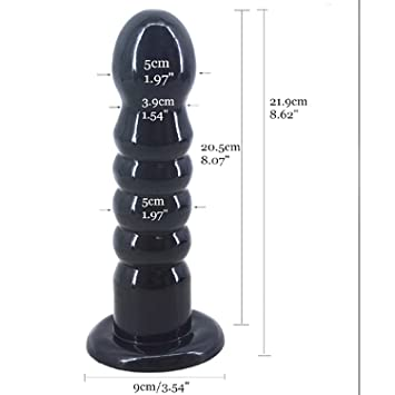 Vibrator Head Massage Big Anal Strong Sucker Anal Silicone Plug Ball Anal Plug Gay Sex Toys
