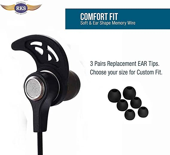 14bd97fbe97 RKS BT550 Wireless Bluetooth 4.2 Headphone portable: Amazon.in: Electronics