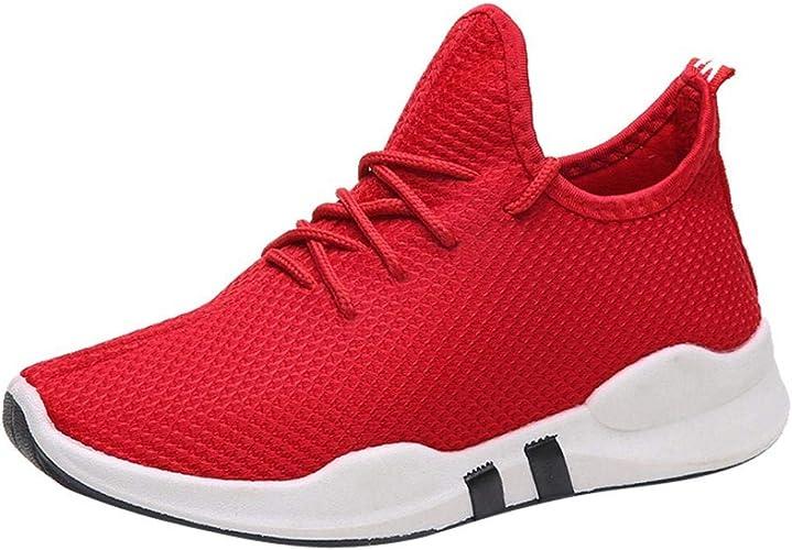 Zapatillas de Deportivo Plano para Mujer Otoño Invierno 2018 Moda PAOLIAN Cómodos Senderismo Zapatos de Alta Ayuda Deportes de Exterior Running Negras Señora Casual Calzado Dama Talla Grande: Amazon.es: Zapatos y complementos