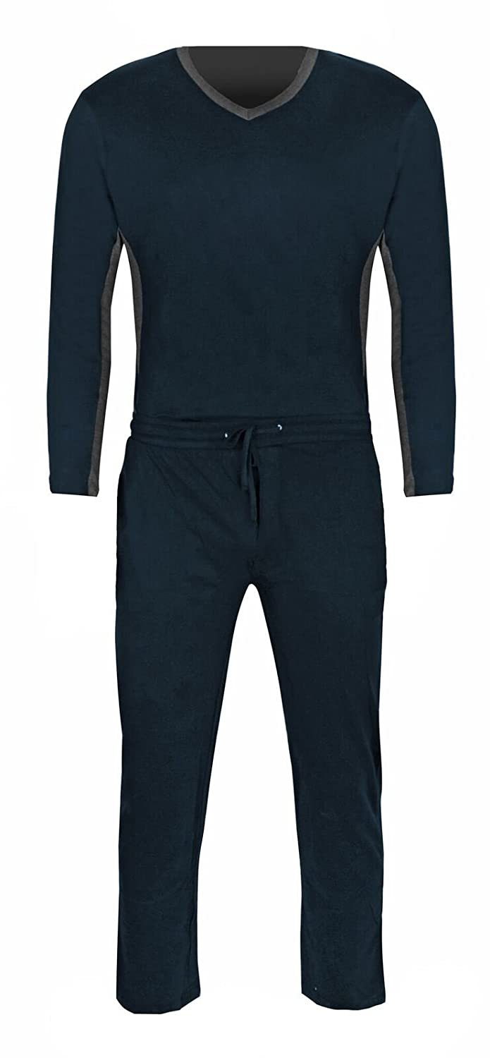 Mens Knit Pajamas 2pc Set Super Soft and Cozy Great Fit 100/% Jersey Cotton