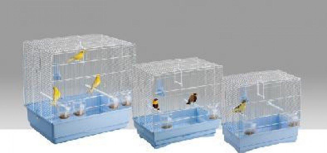 Imac 5-10205 Jaula Pájaros Set Irene, Cromado y Marrón: Amazon.es ...