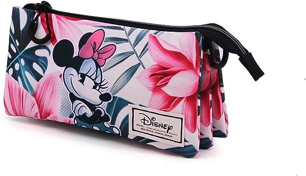 Karactermania Minnie Mouse Paraíso - Estuche Portatodo Triple HS, Multicolor, Un tamaño: Amazon.es: Equipaje