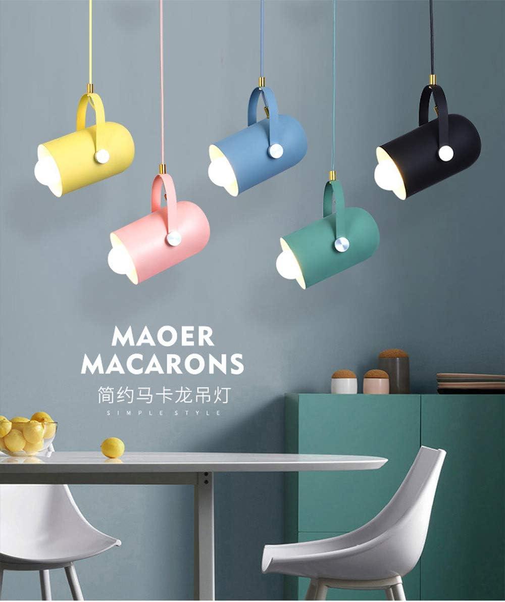 Nordic Minimalism Droplight,Angle Adjustable E27 Small Pendant Lights, Home Decor Lighting Lamp and Bar Showcase Spot Light