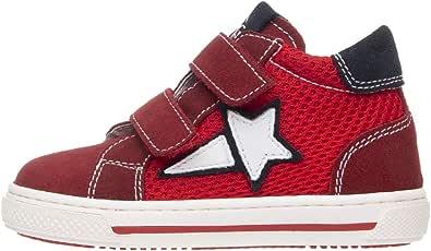 NeroGiardini P923450M Sneaker Kids Niño De Piel, Ante Y Tela