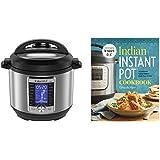 Instant Pot Ultra Electric Pressure Cooker (6 Quart) and Indian Instant Pot Cookbook