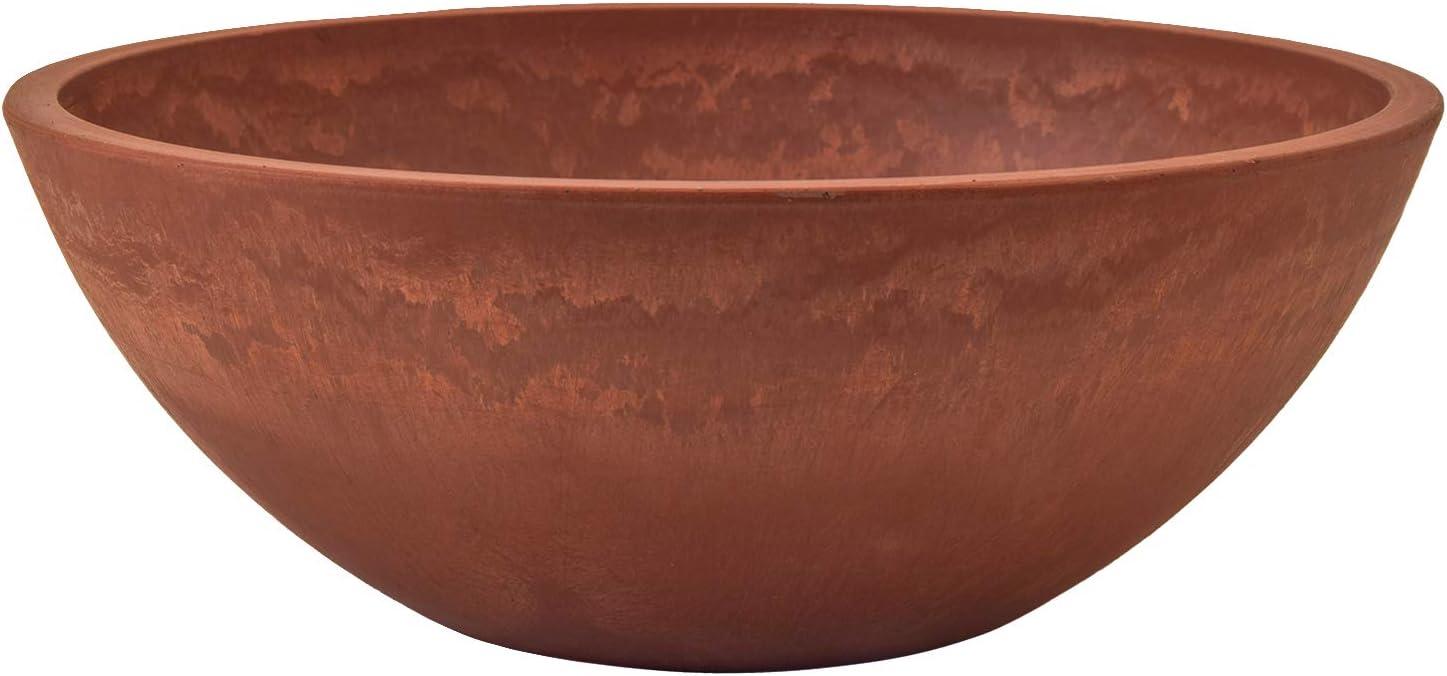 PSW M30TC Garden Bowl, 12 by 4.5-Inch, Terra Cotta