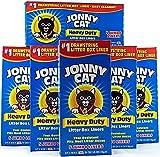 JONNY CAT Cat Litter Box Liners 5 Box (Pack of 6)