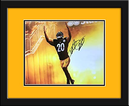 20cdfc6dabb Will Allen Autographed Pittsburgh Steelers 11x14 Photograph ...