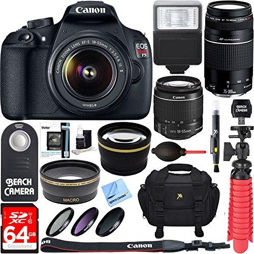Camera 18 55mm 75 300mm Accessory Telephoto