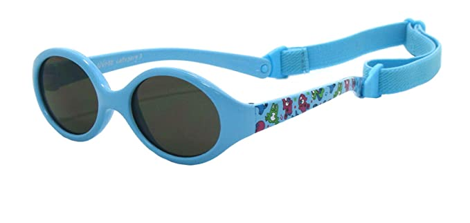 Kiddus Gafas de sol bebe para niños y niñas, TOTALMENTE FLEXIBLES, a partir de 6 meses, 100% protección rayos UVA y UVB, seguras, confortables y muy ...