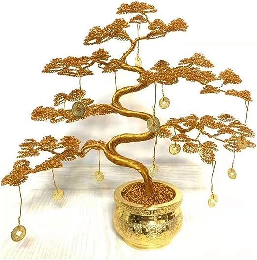 RKRCXH Árbol del Dinero De Feng Shui Bonsai For La Curación ...