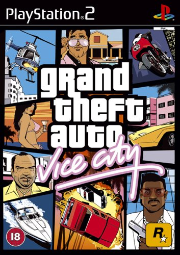 Grand Theft Auto: Vice City (PS2) (Action Ps2 Games)