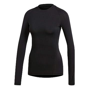 adidas Ask Tec Top LS Camisa de Golf, Mujer: Amazon.es: Deportes y aire libre