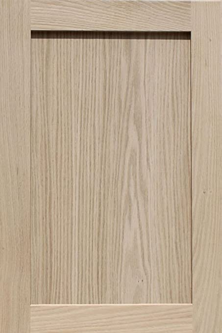Superb Unfinished Oak Shaker Cabinet Door By Kendor, 24H X 16W