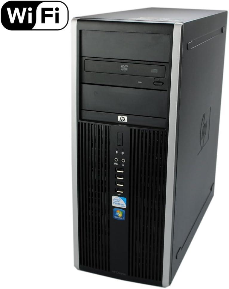 HP 8100 Elite Tower - Quad Core i5 3.2GHz, 8GB DDR3, 1TB HDD, Windows 10 Pro 64-Bit (Renewed)