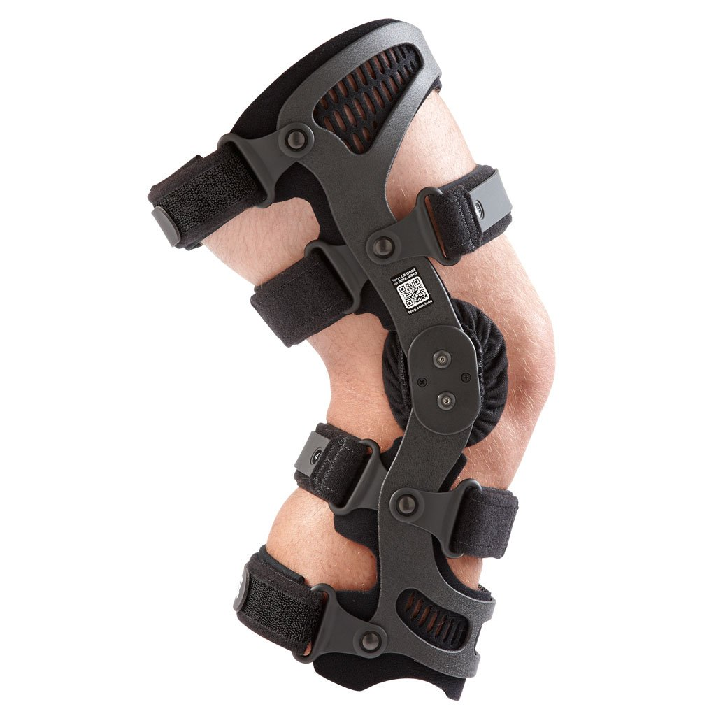 2fe5a79b9f Amazon.com: Breg Fusion XT OA Plus Knee Brace, for Patients Who Participate  in High-Impact Activities (Large Left): Health & Personal Care