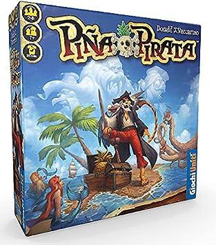 Giochi Uniti GU515 Piña Pirata - Juego de Mesa: Amazon.es: Juguetes y juegos