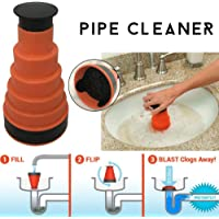 HoganeyVan Portable Size Handheld Household Powerful Sink Drain Pipe Pipeline Dredge Suction Cup Toilet Plungers