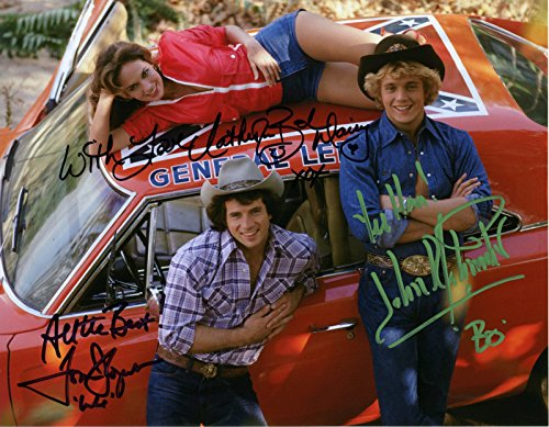 The Dukes of Hazzard cast signed reprint 8x10 photo (The Dukes Of Hazzard Cast)