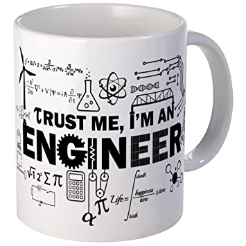 fea3ad0f3de CafePress - Trust Me I'm An Engineer Mugs - Unique Coffee Mug, Coffee Cup:  Amazon.ca: Home & Kitchen
