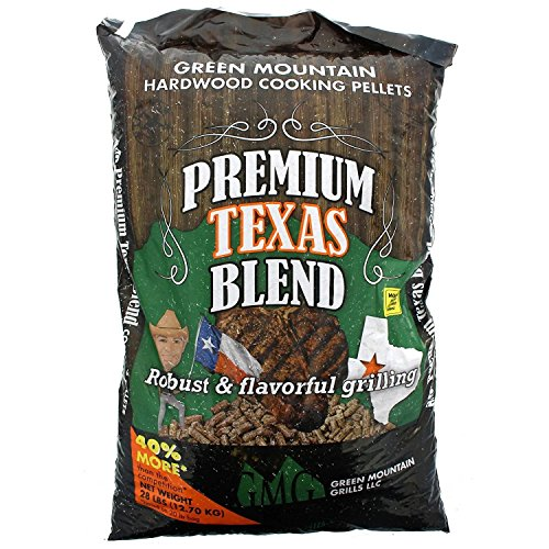 Green Mountain Grill Gmg-2004 Premium Texas Blend Pellets 28 Lb Bag