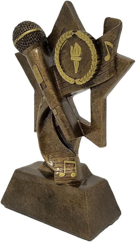 Amazon.com: Década premios micrófono trofeo | Karaoke/DJ ...